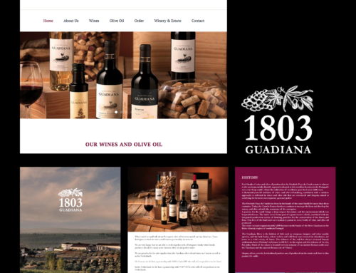 Huisstijl 1803 Guadiana – Olive Oils & Wines