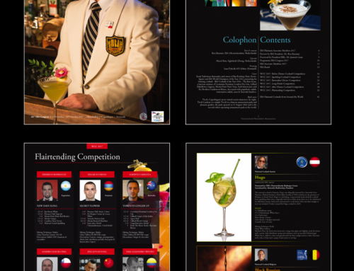 Brochure World Cocktail Championships 2017