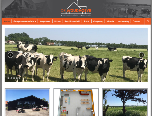 Website De Woudhoeve
