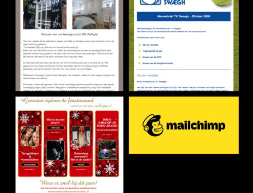 Digitale nieuwsbrieven – Mailchimp