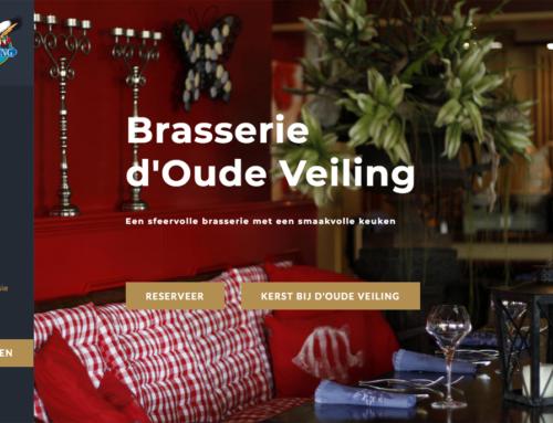 Website brasserie d'Oude Veiling