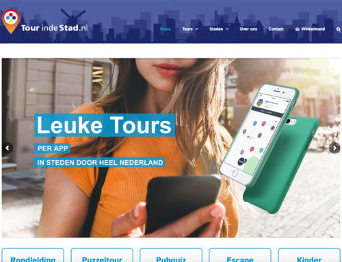 Website Tourindestad.nl